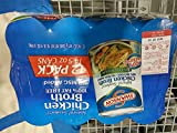 キャンベル スワンソン チキンブロス Chicken Broth 鶏ガラスープ 30%塩分カット 410G×12缶入 [並行輸入品]