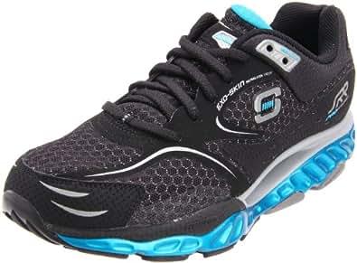 Skechers Men's 52085 Pro Resistance Walking Shoe,Black/Gray/Turquoise,9.5 M US