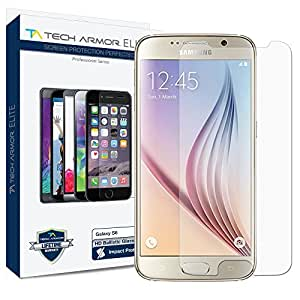 Tech Armor Samsung Galaxy S6 Elite Series Ballistic Glass Screen Protector, Commercial Grade, Ultimate Drop/Scratch Protection
