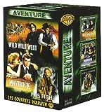 echange, troc Coffret Aventure : Wild Wild West / Maverick / Postman [VHS]