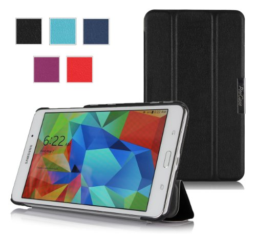 Procase Slimsnug Cover Case For Samsung Galaxy Tab 4 7.0 Tablet 2014 ( 7 Inch Tab 4, Sm-T230 / T231 / T235) (Black)