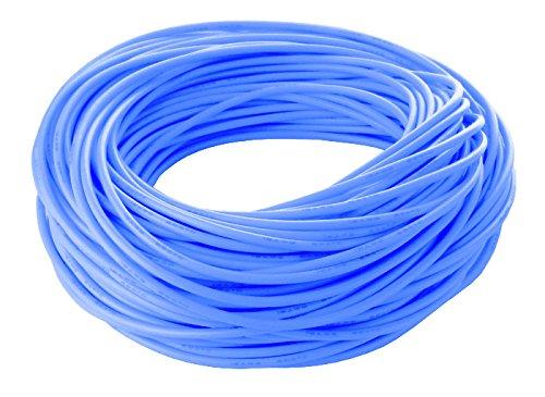 Silicone Wire - Fine Strand - 18 Gauge - 25 Ft. Blue
