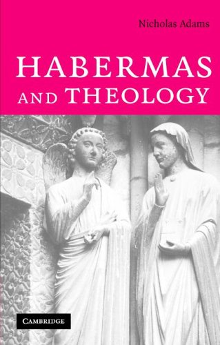 Habermas and Theology, Dr Nicholas Adams