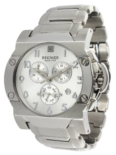 Régnier Dilys R1347 Men's Chronograph Watch 2050412 with Stainless Steel Strap
