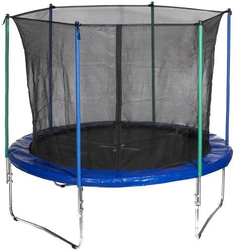 hudora trampolin mit sicherheitsnetz 305 cm schwarz blau 2 kartons art 65531 01 amazon. Black Bedroom Furniture Sets. Home Design Ideas