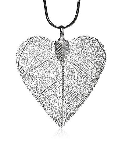 Ana Natural Leaves Colgante Corazón
