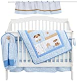 Luvable Friends 6 Piece Puppy Bedding Set