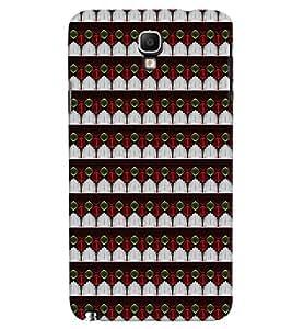 Fuson Premium Fountain Design Printed Hard Plastic Back Case Cover for Samsung Galaxy Note 3 Neo N7505