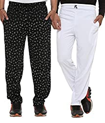 Vimal Cotton Blended Trackpants For Men's(Pack Of 2)
