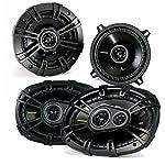 "Kicker Dodge Ram Truck 1994-2011 speaker bundle - CS 6x9"" coaxial speakers, and CS 5.25"" coaxial speakers."