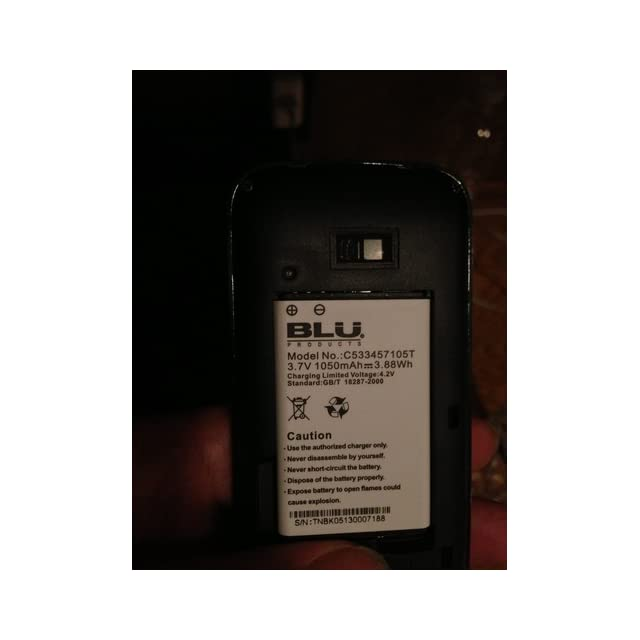 BLU Diva X T372T Unlocked GSM Phone with Dual SIM, 1.3MP Camera + LED Flash, Blu