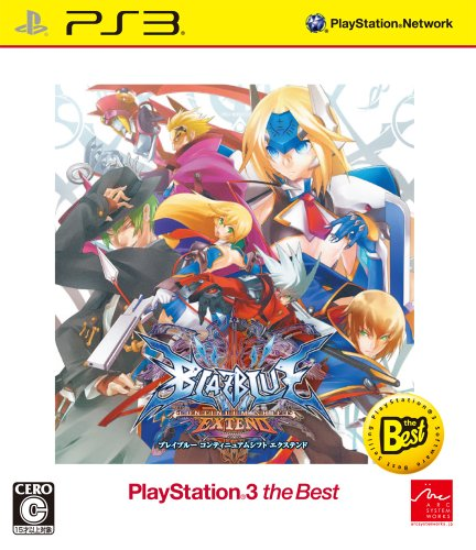 BLAZBLUE CONTINUUM SHIFT EXTEND PlayStation(R)3 the Best