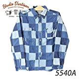 ステュディオダルチザン 5540A パッチワークシャツ A Lサイズ