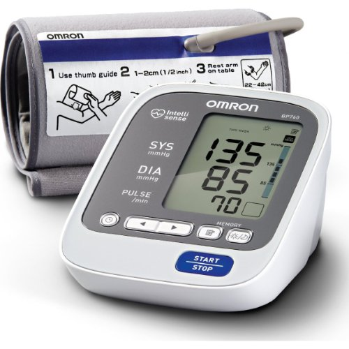 Omron 7 Series Upper Arm Blood Pressure Monitor front-833025