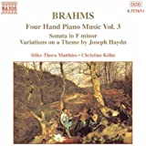 Brahms: Four-Hand Piano Music, Vol. 3