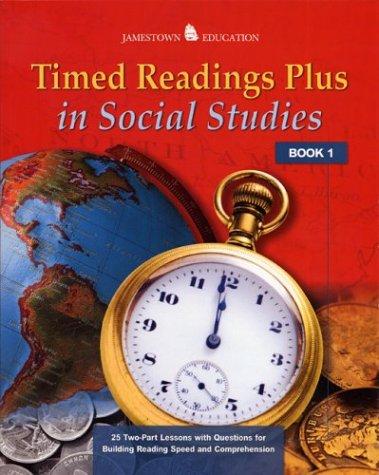 Timed Readings Plus in Social Studies: Book 8