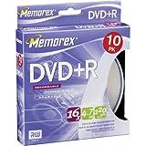 Memorex - 10 x DVD+R - 4.7 GB 16x - spindle - storage media