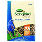 Songbird Selections 1025127 Colorful Bird Seed Blend Wild Bird Food Bag, 12-Pound