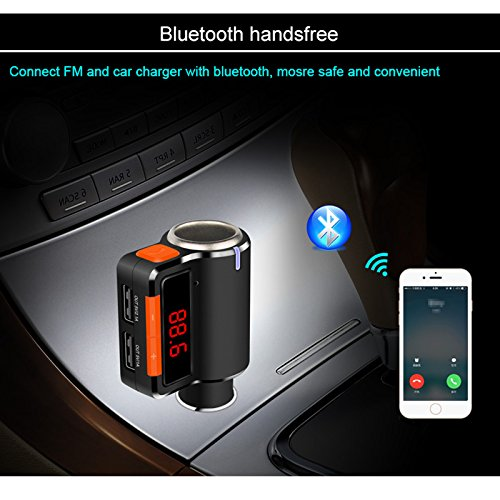 Aliexpress Com Buy Marsnaska High Quality Car Bluetooth Fm Music Receiver Car Bluetooth: TopePop LED Display Bluetooth FM Transmitter Car Charger Adapter Cell Phone Bluetooth Car Kit