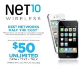 Net10 AT&T Compatible Micro SIM Card by Net10