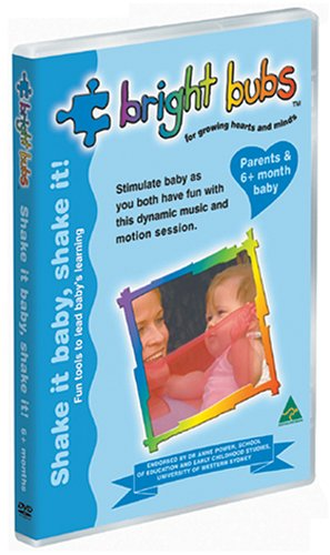 Bright Bubs - Shake It Baby, Shake It! Dvd - Playful Home Song And Dance Experience For Parents With 6-12 Month Old Baby front-340618