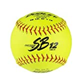 Dudley Sb 12L Nfhs Fast Pitch Leather Softballs One Dozen