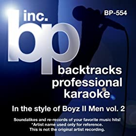 A Song For Mama (Instrumental Track Without Background Vocal)[Karaoke in the style of Boyz II Men]