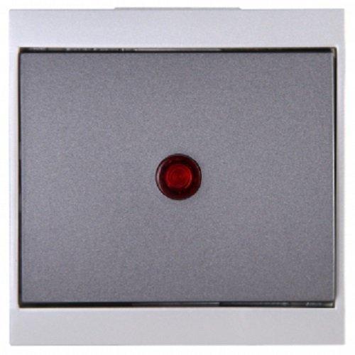 kopp-malta-621665084-roller-shutter-switch-silver-charcoal-grey