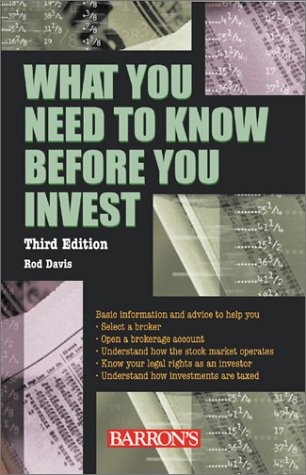 What You Need to Know Before You Invest
