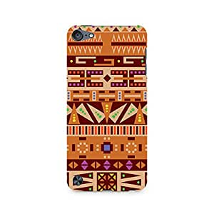 Mobicture Tribal Pizza Premium Printed Case For Apple iPod Touch 6