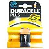 All Trade Direct 5 X Duracell Plus 9V Batteries Mn1604 6Lr61 Pp3 Battery