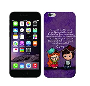 Galaxy Printed 1351 EmoLove Weirdness HARD COVER for Apple iPhone 4
