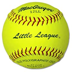 Buy MacGregor Little League 11 in. Softballs - 1 Dozen by MacGregor
