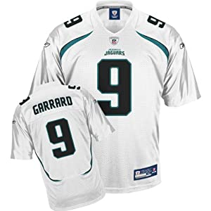 Reebok Jacksonville Jaguars David Garrard Replica White Jersey Extra Large by Reebok