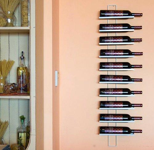 Dies   scaffalatura portabottiglie di vino a muro, capienza totale ...