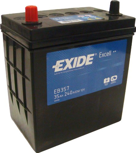 Exide Excell EB357 35Ah Autobatterie wartungsfrei