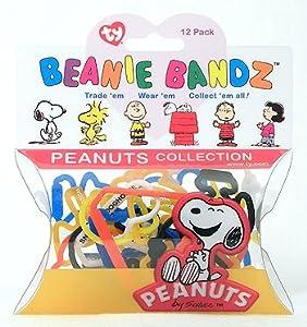 Ty Beanie Bandz Peanuts - 12 Pack
