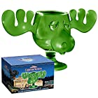 ICUP National Lampoons Christmas Vacation Griswold Green Glass Moose Mug with Closed Packaging