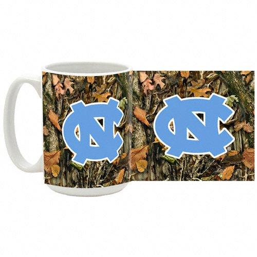 North Carolina Tar Heels Camouflage 15 oz Ceramic Mug