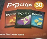Popchips 3-Flavor Variety Pack, 1 oz servings (30 pack)