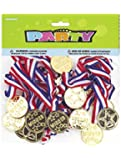 Unique Party Bag Fillers Winners Medals (Pack of 24)