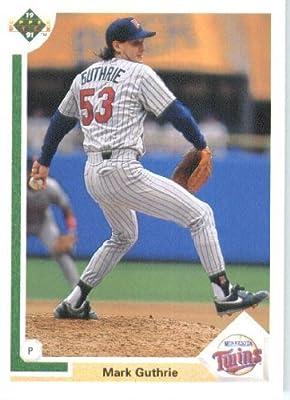 1991 Upper Deck # 505 Mark Guthrie Minnesota Twins - MLB Baseball Trading Card