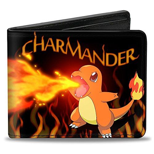 Buckle Down Firebreathing Charmander Bifold Wallet
