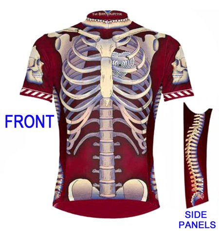 Buy Low Price Primal Wear Bone Collector Skeleton Cycling Jersey Men's Short Sleeve (B0066E90ZA)