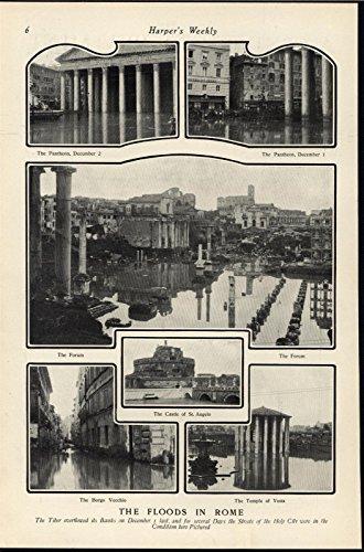 floods-rome-forum-pantheon-temple-vesta-underwater-1901-antique-historic-print