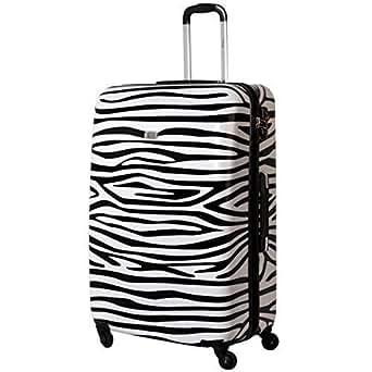 Amazon.com: XXL Hardcase Suitcase TSA Polycarbonate 100 Liter Zebra