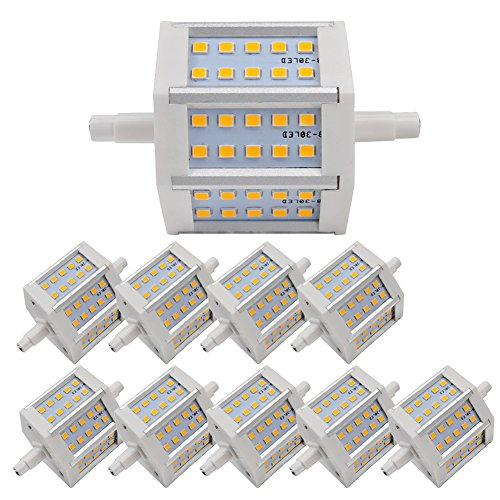 10X Light Warm White Smd 2835 R7S Lighting Led Bulb 4W Non-Dimmable 360Lm With Ce And Rohs Ac 85-265 V