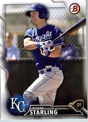 2016 Bowman Prospects #BP138 Bubba Starling Kansas City Royals Baseball Card