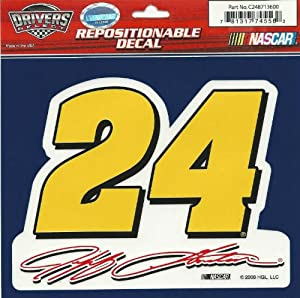 Buy Jeff Gordon #24 41 2 X 51 2 Multi-use Decal by Motorsport Authentics