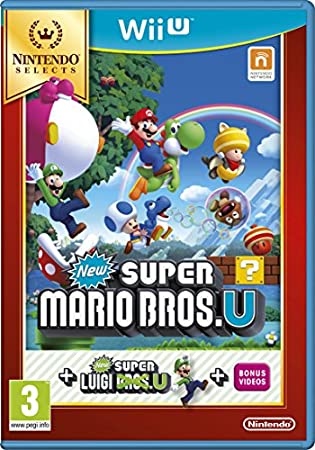 New Super Mario Bros. U Plus New Super Luigi U Select (Nintendo Wii U)
